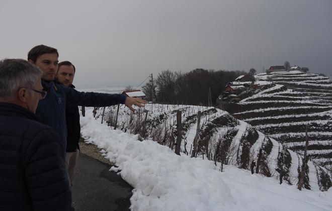 Team Döllerer beeindruckt von den GROSSen Weingärten