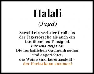 Definition Halali 635x500