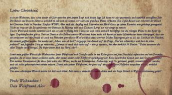 Brief ans Christkind von Alex Koblinger